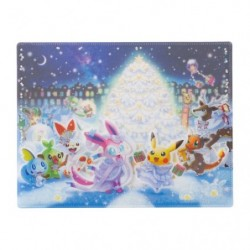 A4 Pochette transparente Pokémon Frosty Christmas japan plush