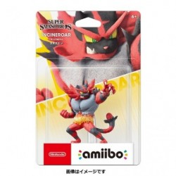 Amiibo Incineroar japan plush