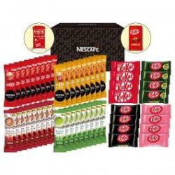 Nestle Cafe Stick and Kit Kat Variety Gift Set japan plush