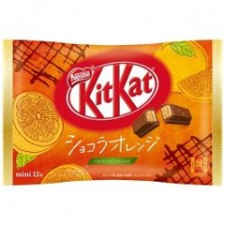 Kit Kat Mini Chocolate Orange japan plush