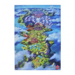 Poster Galar Region Map Pokémon Sword Shield japan plush