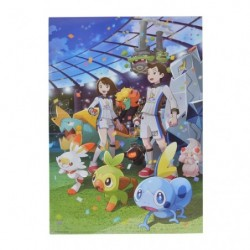 Poster Galar la Ligue Pokémon Épée Bouclier japan plush