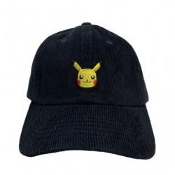Casquette en velours côtelé Pikachu japan plush