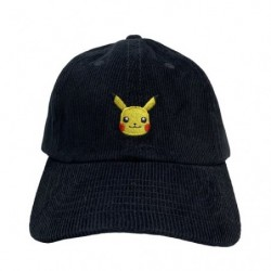 Corduroy embroidery cap Pikachu japan plush