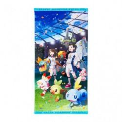 Petite serviette de bain Ligue Pokémon Galar japan plush