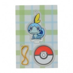 Acrylic keychain Sobble japan plush