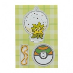 Acrylic keychain Eldegoss japan plush