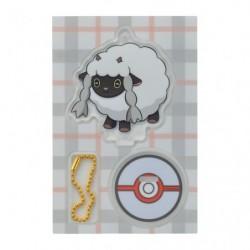 Acrylic keychain Wooloo japan plush