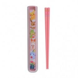 Chopsticks with case Pokémon Picnic japan plush