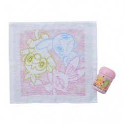 Wet towel with case Pokémon Picnic japan plush