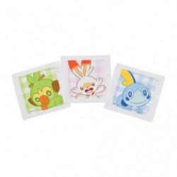 Ensemble 3 Serviettes Pokémon Picnic japan plush