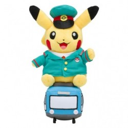 Peluche Train Pikachu japan plush