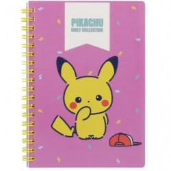 Cahier à spirales B6 Pokémon Girly Pose japan plush