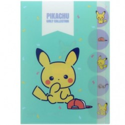 Pochette transparente 5P Pose japan plush