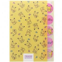 Pochette transparente 5P Chirashi japan plush