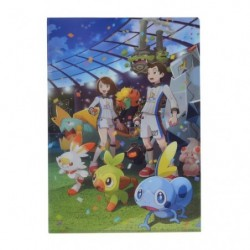 A4 Pochette transparente Galar Ligue Pokémon