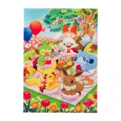 A4 Clearfile Pokémon Picnic japan plush