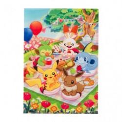 A4 Clearfile Pokémon Picnic japan plush