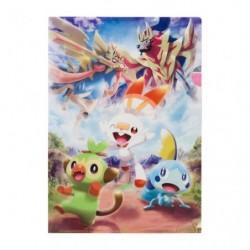 A4 Pochette transparente Pokémon Galar japan plush