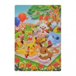 Underlay for paper Pokémon Picnic japan plush