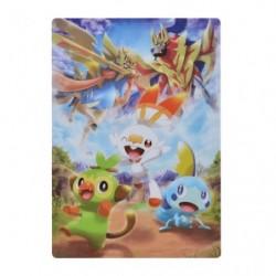 Sous-couche pour papier Pokémon Galar japan plush