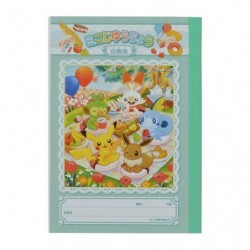 Mini Free use notebook Pokémon Picnic japan plush