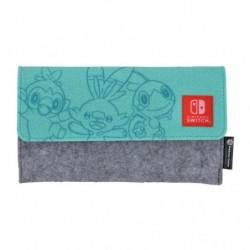 Pochette Verte Nintendo Switch Lite Ouistempo Flambino Larméléon japan plush
