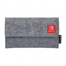 Pochette Grise Nintendo Switch Lite Ouistempo Flambino Larméléon japan plush