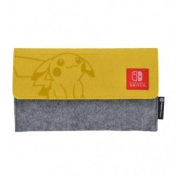 Felt Pouch Yellow Nintendo Switch Lite Grookey Scorbunny Sobble japan plush