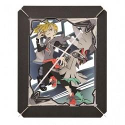 Sheet Art Lili & Silvally japan plush