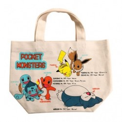 Bag Pokemon Generation 1 japan plush