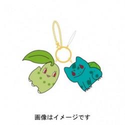 Keychain Mascot Chikorita & Bulbasaur japan plush
