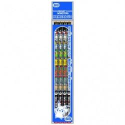 Crayon 6B 4P Nouveau Semestre 2020 japan plush