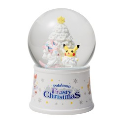 Snow Globe Pikachu Sylveon Christmas 2019 japan plush