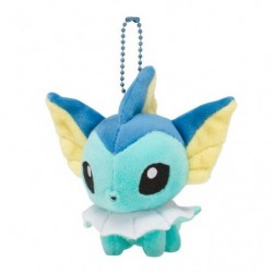 Plush Keychain Mascot Pokemon Doll Vaporeon japan plush