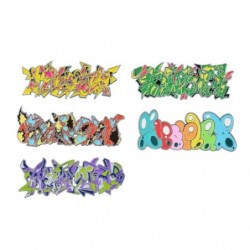 Pins CollectionPokémon Center SHIBUYA Graffiti Art japan plush