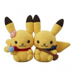 Pikachu Pair Plush Pokemon little tales picnic japan plush