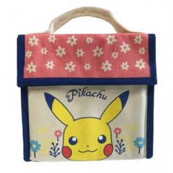 Bag Cold insulation Pikachu flowers japan plush