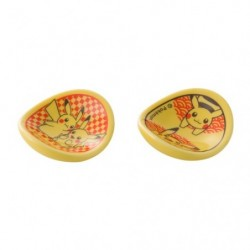 Repose-baguettes jaunes Pikachu Set x2 japan plush