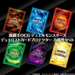 Card Sleeves Six Attribute Set Yu-Gi-Oh! OCG Duel Monsters Duelist japan plush