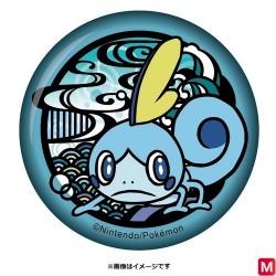 Badge papié découpé Larméléon japan plush