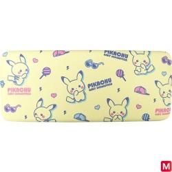 Boîte à lunettes jaune Pikachu Girly Collection japan plush
