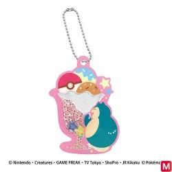 Keychain acrylic beads BC Snorlax japan plush