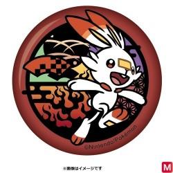 Cut paper badge Scorbunny japan plush