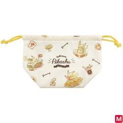 Pochette à cordons large Pikachu number025 japan plush