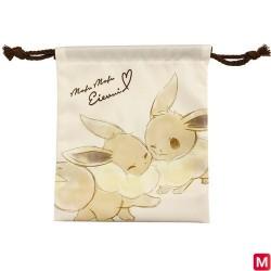 Drawstring pouch Mofu Mofu Eevee japan plush