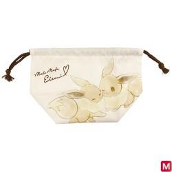 Pochette à cordon large Mofu Mofu Eievui Évoli japan plush