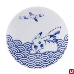 Assiette Motif vague Style Japonais japan plush