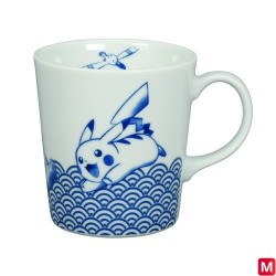 Mug Wave pattern Japanese Style japan plush