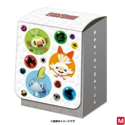 Deck Box Starters Sword and Shield Pokémon TCG japan plush